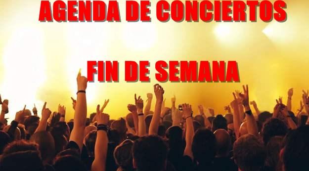 Agenda de conciertos del 13 al 19 de julio