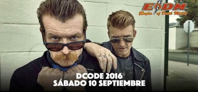 EODM estaran en el Dcode 2016.