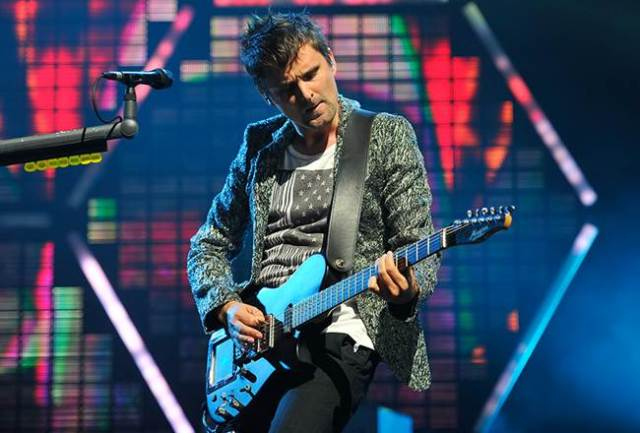 Matt Bellamy cantante de Muse.