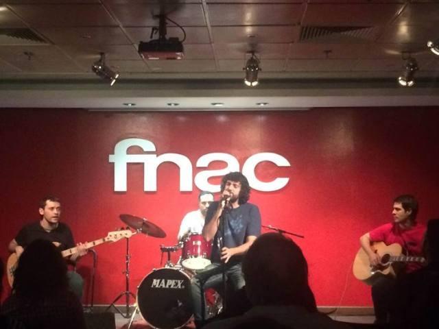 Paciente Cero en su concierto en el Fnac de Callao