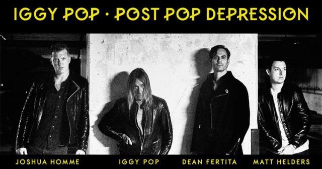 Post Pop Depression es el nuevo disco de Iggy Pop