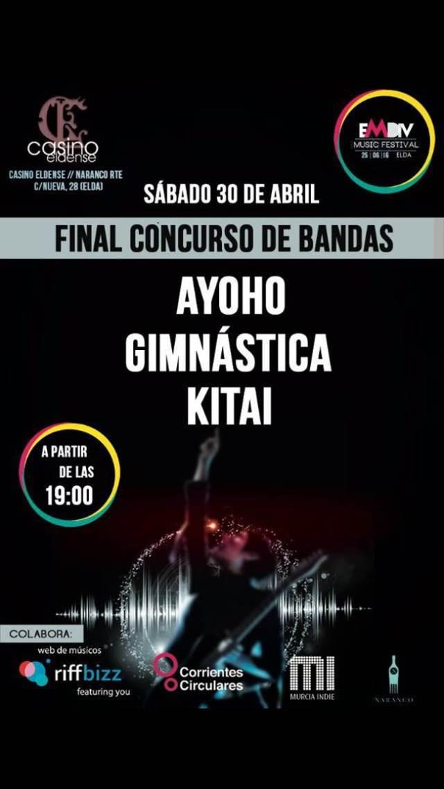 Concurso de bandas Emdiv Music Festival