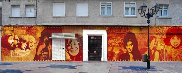 Exterior de la Sala Creedence de Zaragoza.