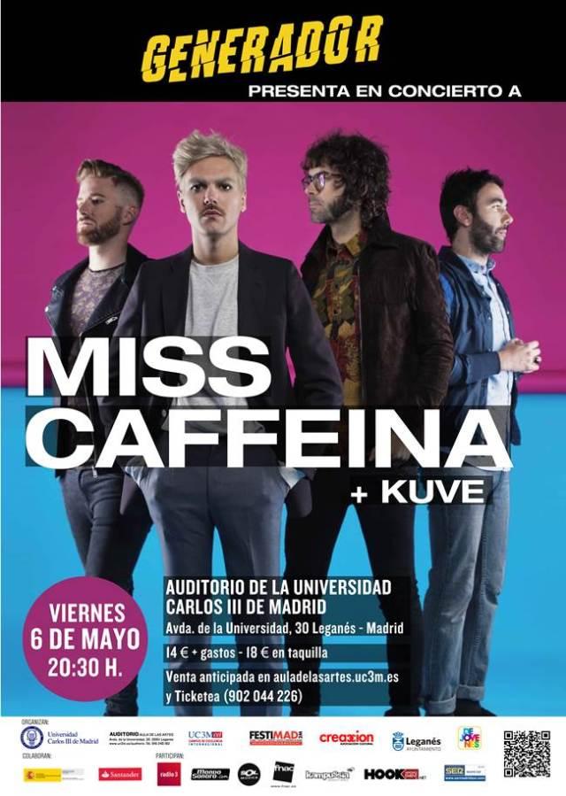 Miss Caffeina será otros de los artistas que estaran en el Festimad 2016.