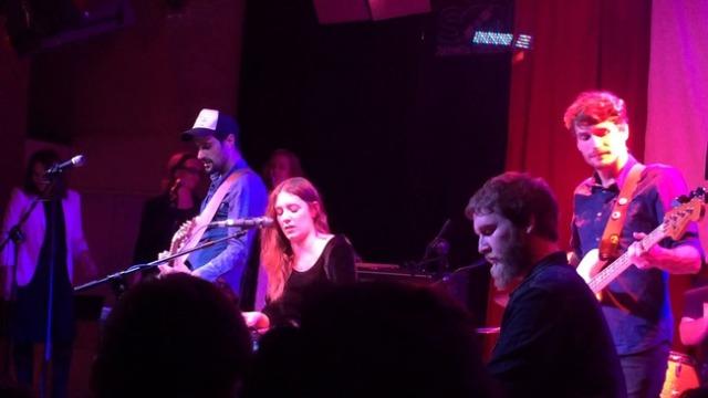 Morgan durante su concierto en la Sala El Sol.