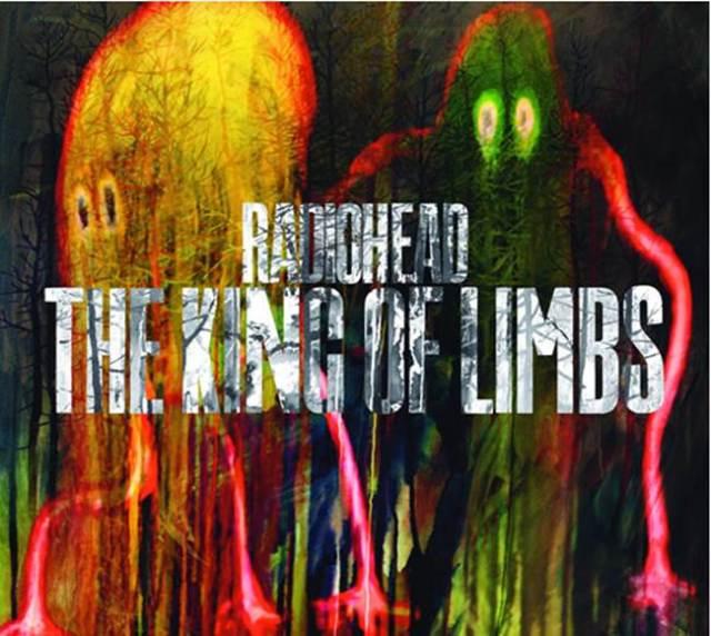The King Of Limbs último disco de Radiohead.
