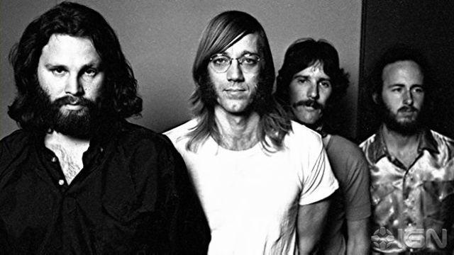 Una de las últimas imagenes de The Doors antes de la muerte de Jim Morrison.