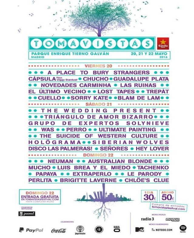 Cartel del festival Tomavistas.