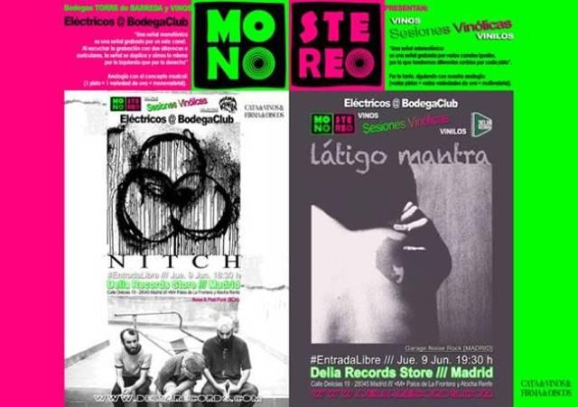 Látigo Mantra estará hoy en la inaguración de las sesiones vinólicas de Delia Records.