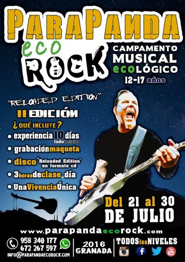 Mira todo lo que os ofrece el campamento Parapanda Eco Rock