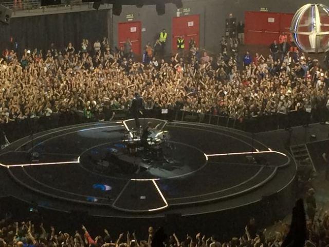 Muse en Madrid.