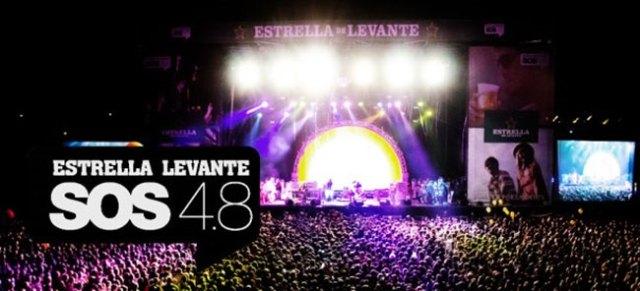 Nueva edición los días 6 y 7 del festival SOS 4.8 en Murcia.