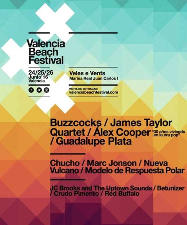 Valencia-Beach-Festival cartel