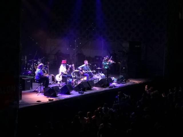 Ben Miller Band durante su concierto de Mad Cool Festival.