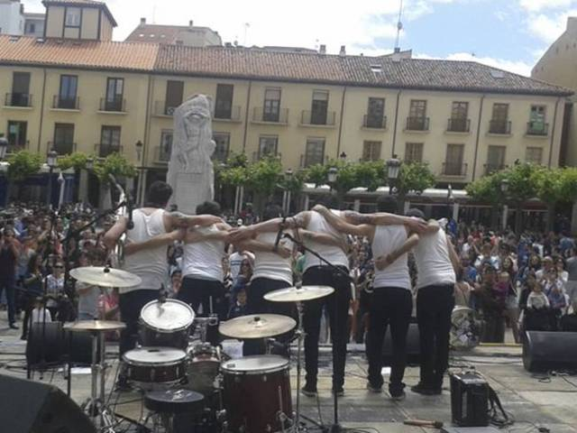 Ambiente en el festival Palencia Sonora.