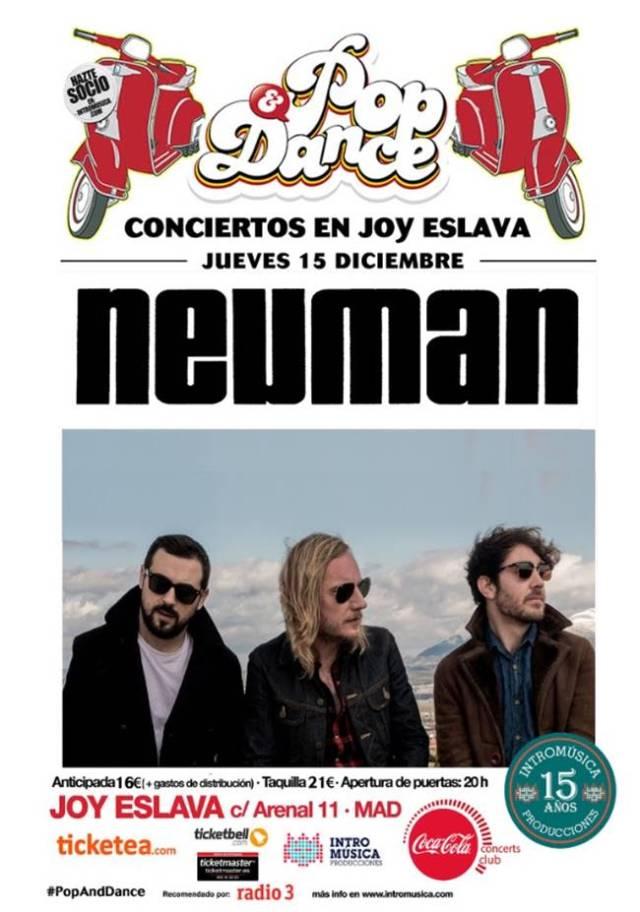 Neuman llega a Madrid.