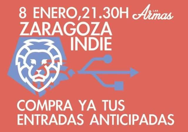 Zaragoza Indie fue otro de los proyectos que apoyaron Mi rollo es el indie