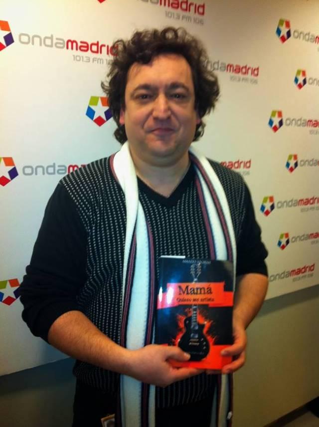 Amado Storni, creador del libro ¨Mamá quiero ser artista¨.
