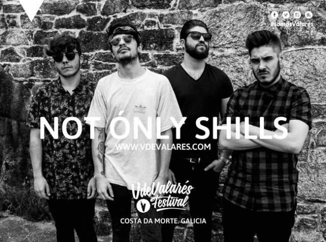 Not Only Shills se unen al cartel del festival V de Valarés.