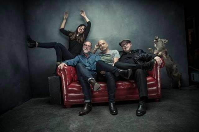 Pixies estaran en concierto en Barcelona en Noviembre.