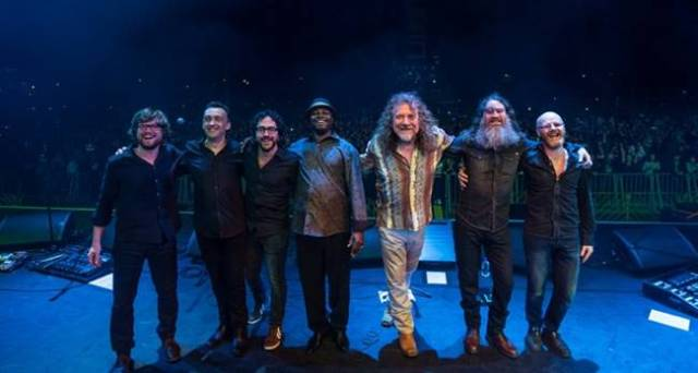 Robert Plant and The Sensational Space Shifters.