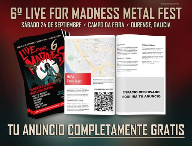 Concurso Live For Madness