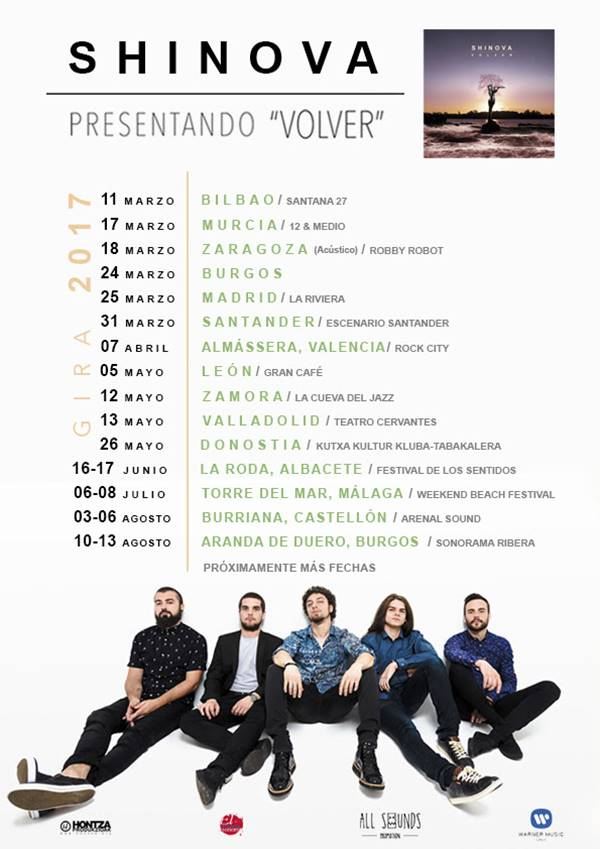 Nuevas fechas de conciertos