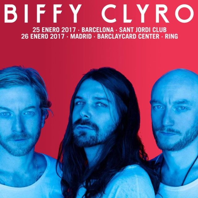 Biffy Clyro actuarán en Barcelona y Madrid.