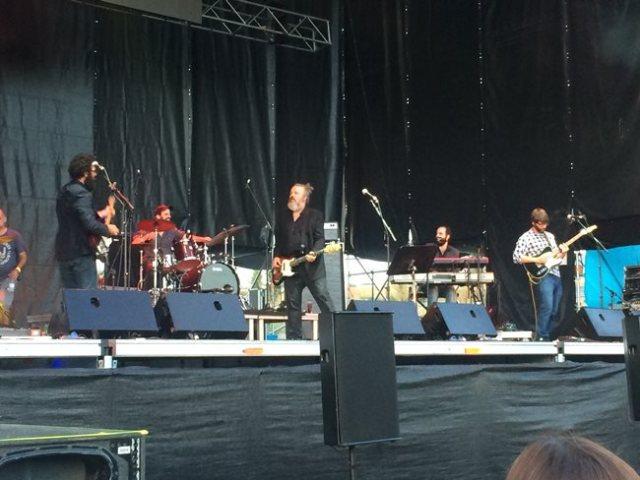 Egon Soda durante su actuación en el Festival Gigante