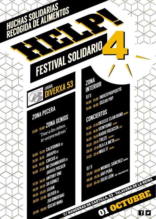 Horarios Festival Help