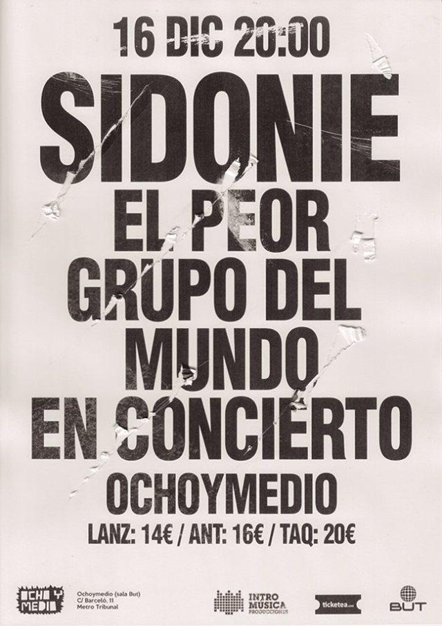 Sidonie presenta en el Ocho y Medio su nuevo disco.