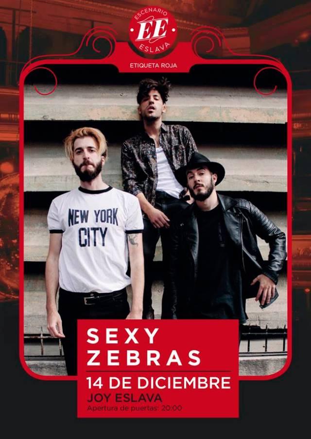 Sexy Zebras llegán al Escenario Eslava