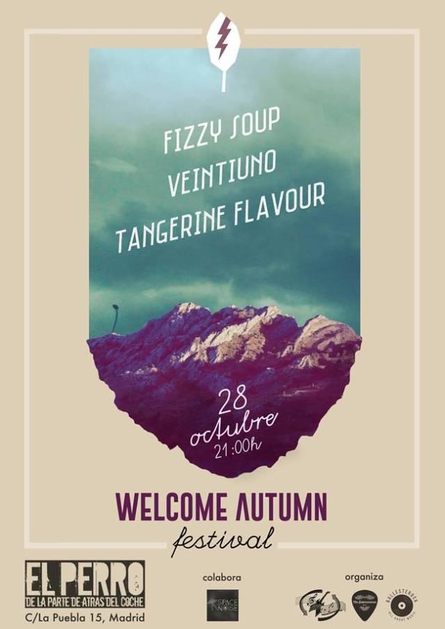 Este viernes se celebra el Festival Welcome Autumn