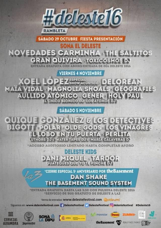 Cartel Deleste Festival