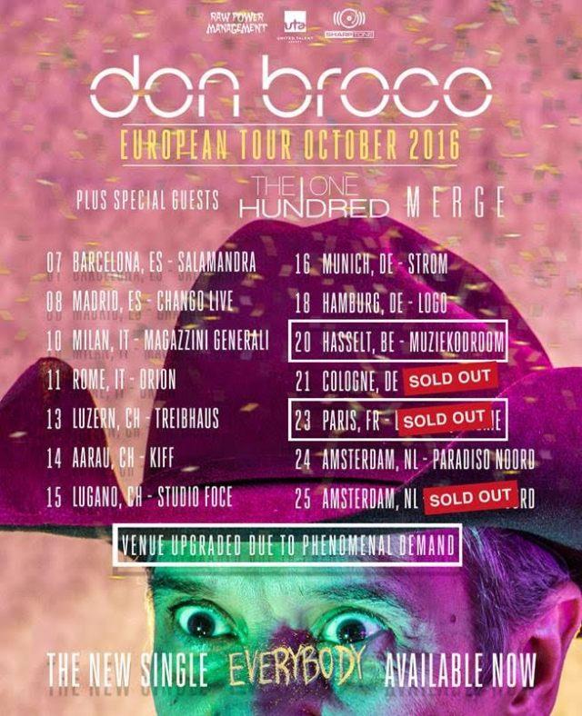 Don Broco de gira por España