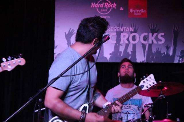 Jesús Ksavie durante su concierto en el Hard Rock Café