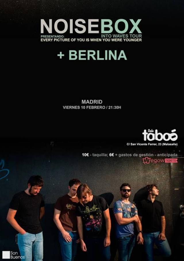 Noise Box vuelve a Madrid