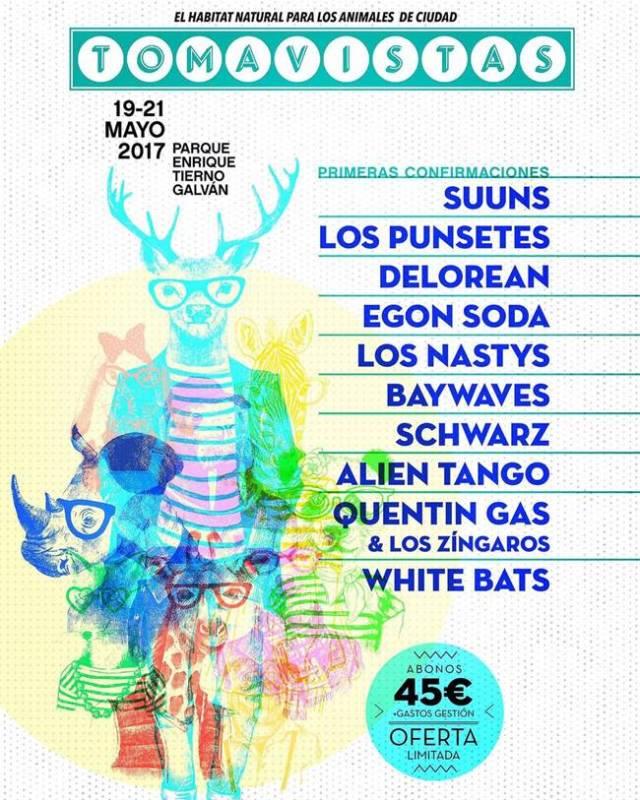 Primeras confirmaciones Festival Tomavistas