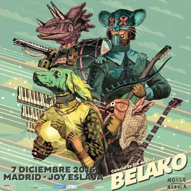Belako llega a Madrid
