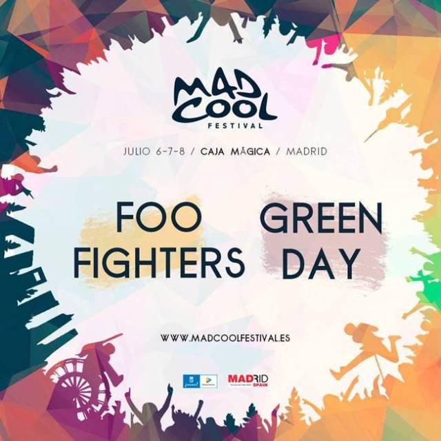 Mad Cool Festival confirma a Foo Fighters y Green Day como primeros cabezas de cartel