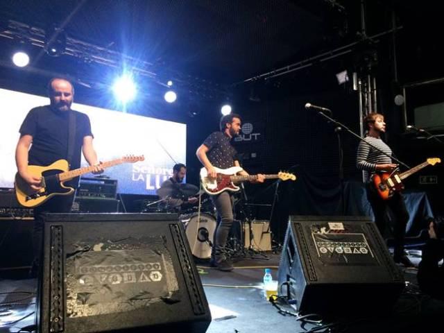 Señores durante su último concierto en Madrid