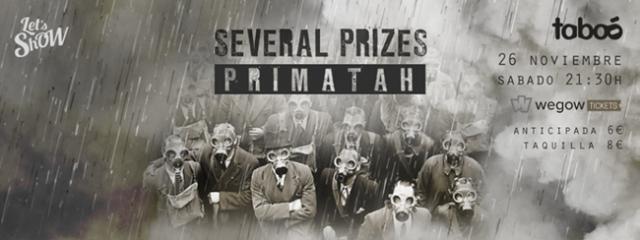 Several Prizes y Primatah estarán este sábado en Madrid