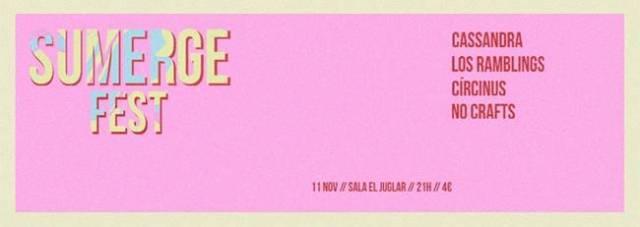 Sumerge Fest este viernes en la sala El Juglar