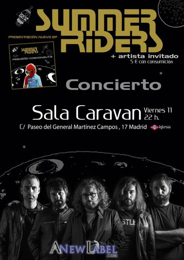 Summer Riders llegan a Madrid.