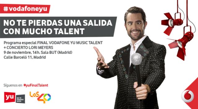 Vodafone Yu Talent 2016
