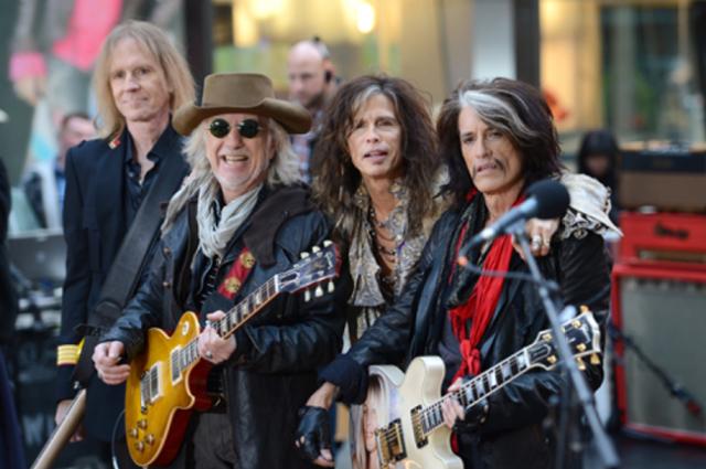 Aerosmith visitaran Madrid y Barcelona en 2017