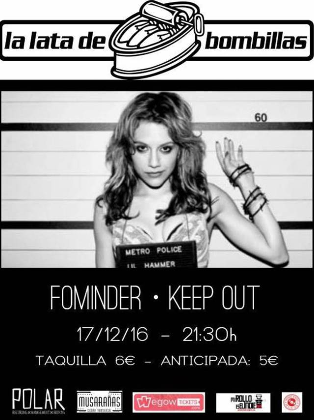 Fominder y Keep Out en Zaragoza