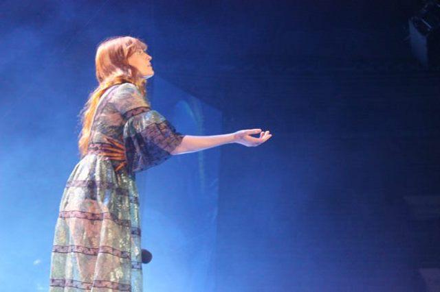 Madrid se rindió a los pies de Florence Welch