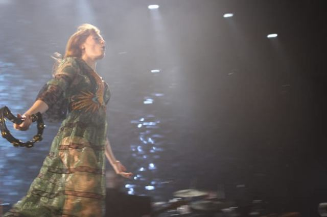 Florence And The Machine, todo fuerza y energía