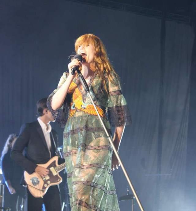 Florence And The Machine durante su concierto en la plaza de Vistalegre